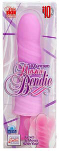 10-Function Pleasure Bendie - Pink