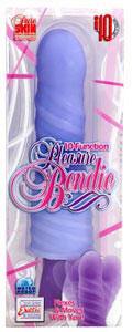 10-Function Pleasure Bendie - Purple