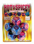 Hot and Spicy Party Dice