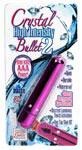 Crystal High Intensity Bullet 2 - Pink