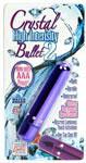 Crystal High Intensity Bullet 2 - Purple