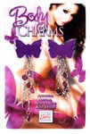 Body Charms Butterflies - Purple