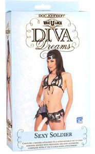 Vac-U-Lock Diva Dreams Sexy Soldier