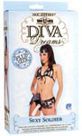 Vac-U-Lock Diva Dreams Sexy Soldier Plus Size