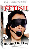 Fetish Fantasy Series Blindfold Ball Gag