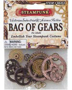 Steampunk Bag of Gears - Embellish Your Steampunk Costume