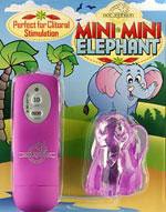 Mini Mini Elephant - Fuchsia