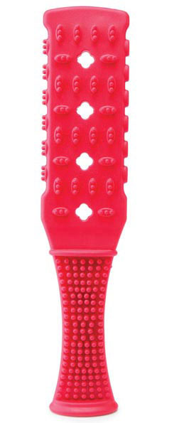 Fetish Fantasy Rubber Paddle - Red