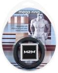M2M Mega Nitrile Cock Ring Large - Black