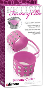 Fetish Fantasy Elite Silicone Cuffs - Pink