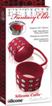 Fetish Fantasy Elite Silicone Cuffs - Red