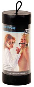 Kinklab Rubber Bit Gag