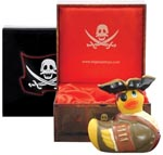 I Rub My Duckie Massager Travel Size - Pirate Duck