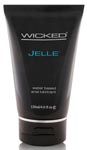 Wicked Sensual Care Collection Fragrance Free 4oz Anal Gel Lubricant - Jelle - Waterbased