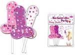 Bachelorette Party Foil Balloon On A Stick - 3 Pack