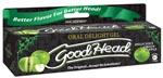 Good Head Oral Gel - 4 Oz Green Apple