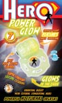 Hero Power Glow Silicone Cock Ring - Glow In The Dark