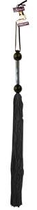 Large Rubber Whip - Black