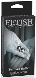 Limited Edition Fetish Fantasy Ben Wa Balls - Gold