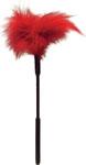 Sex & Mischief- Feather Tickler - Red