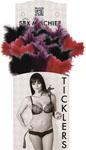 Sex & Mischief- Tickler Display Box - Asst. Feather Ticklers 18 Count