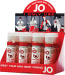 System JO H2o Flavored Lubricant 1 Oz Cherry - Display Of 12