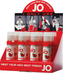System JO H2o Flavored Lubricant 1 Oz Strawberry Kiss Display Of 12