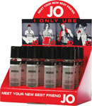 System JO Personal Silicone Lubricant 1 Oz Display Of 12