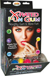 X-Rated Fun Gum - Display Of 50
