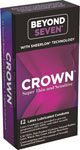 Crown Lubricated Condoms - Box Of 12