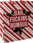 Bah Fucking Humbug Gift Bag - Large
