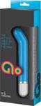Glo 5in Gspot Vibrator - Blue