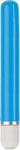 Glo 6in Straight Vibrator - Blue