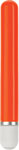 Glo 6in Straight Vibrator - Orange