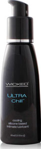Wicked Sensual Care Collection Ultra Chill Silicone Based Lubricant - 2 Oz Fragrance Free