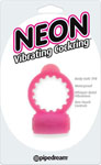 Neon Vibrating Cockring - Pink