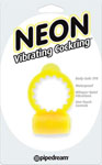 Neon Vibrating Cockring - Yellow