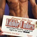 Men's Edible Undies - Strawberry Chocolate