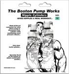 Boston Pump Works Nipple Cylinders  3/4