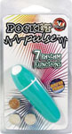 Pocket Pulse 7 Function Waterproof Bullet - Teal