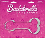 Bachelorette Party Favors Pecker Cookie Cutter
