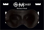 Sex & Mischief Eye Mask - Black