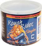 Rough Rider Studded Condom Singles - Display Of 40