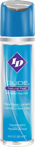 I-D Glide Sensual Water Based Lubricant - 8.5 Oz Flip Cap Bottle