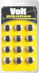 Blush Volt Alkaline Batteries - Ag13 Pack Of 12