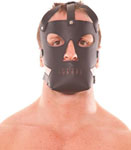 Rapture Leather Mask - Black