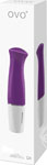 Ovo D4 Silicone Mini Vibe Waterproof Violet And White