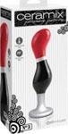 Ceramix Pleasure Pottery Temperature Play Plug No. 3 - Red/Black
