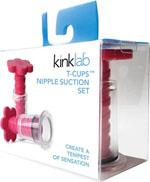 Kinklab T-Cup Nipple Suction Set