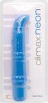 Climax Neon Vibrator - Electric Blue